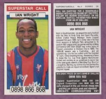 Crystal Palace Ian Wright England 1